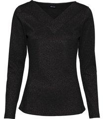 maglia a costine in lurex (nero) - bodyflirt