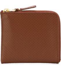 comme des garçons wallet 'luxury group' purse - brown