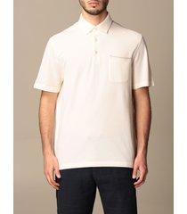 ermenegildo zegna polo shirt ermenegildo zegna cotton polo shirt with patch pocket