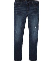 jeans elasticizzati con taglio comfort regular fit straight (blu) - john baner jeanswear