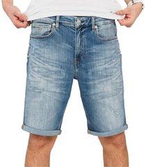 medium denim jeans bermuda
