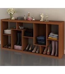 aparador/estante  amendoa e1712 - tecno mobili