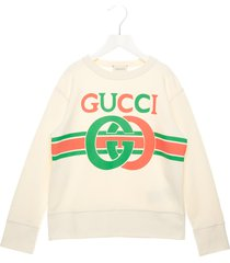 gucci logo interlock sweatshirt