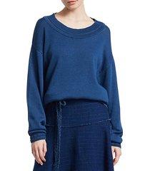 hensley crewneck pullover