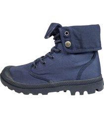 botas azul palladium 75492-458