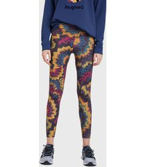 legging desigual  new galacti  3078 multicolor - calce ajustado