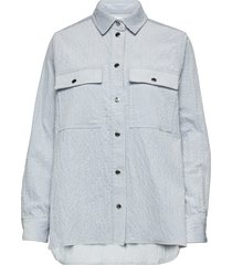 leonora shirt 11305 overhemd met lange mouwen blauw samsøe samsøe