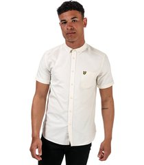mens oxford short sleeve shirt