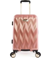 "juicy couture grace 21"" spinner luggage"