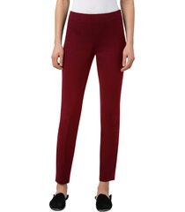 akris melissa techno stretch wool pants, size 14 in marsala at nordstrom