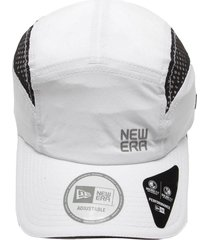 boné new era strapback runner laser cut booking branco - kanui