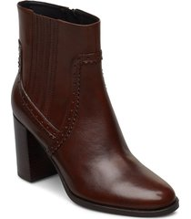 d jacy high d shoes boots ankle boots ankle boots with heel brun geox