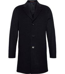 storvik coat wollen jas lange jas zwart oscar jacobson