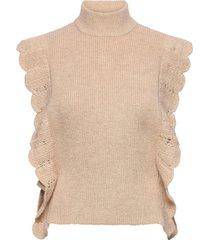 parisa esti knit vest vests knitted vests roze bruuns bazaar
