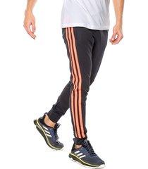 pantalón azul-coral neón adidas performance m 3s reg