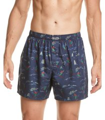 polo ralph lauren men's printed woven boxers
