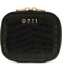 0711 small ela cosmetic bag - black