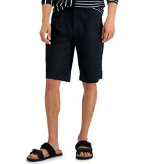inc men's solid shorts, created for macy's