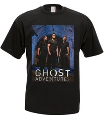 ghost adventures tv show drama black men's t-shirt tee