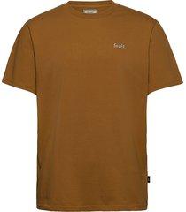 air t-shirt t-shirts short-sleeved beige forét