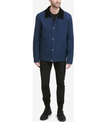 cole haan men's city rain barn coat
