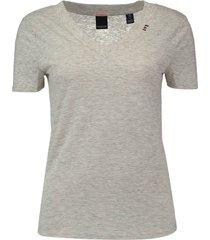 t-shirt feminine grijs