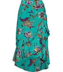 day iris knälång kjol blå day birger et mikkelsen