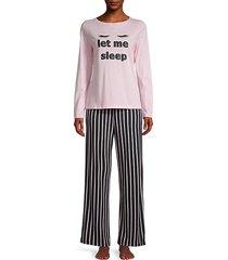 2-piece top & pajama set