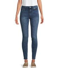 true religion women's jennie mid-rise jeans - medium wash - size 33 (12)