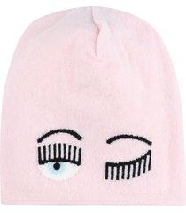 chiara ferragni flirting knitted beanie