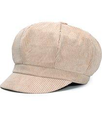 cappello da pittore caldo con cappuccio ottagonale vintage da donna