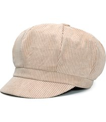 uomo donne vintage corduroy cappello ottagonale spessore caldo cappello  pittore e3f7a73de7f3