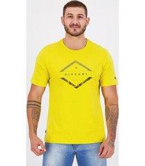 camiseta rip curl oasis amarela - masculino