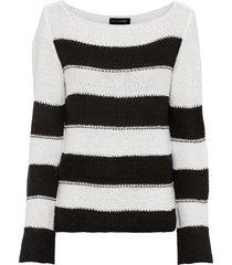 maglione a fasce (nero) - bodyflirt