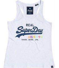 superdry vintage logo pop-hemdtopje