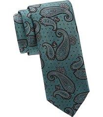 woven paisley tie