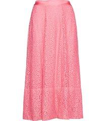 beth knälång kjol rosa custommade