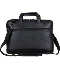 "vegan leather 16"" laptop business case"