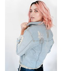 chaqueta denim star