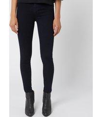 j brand women's maria high rise skinny jeans - bluebird - w31/l30 - blue