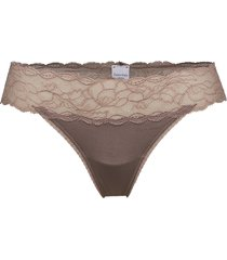 thong stringtrosa underkläder brun calvin klein