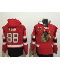 chicago blackhawks #19 jonathan toews #88 patrick kane hockey hooded sweatshirt