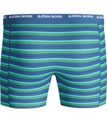 bjorn borg boxers 3-pak basic streep blue