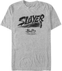 men's buffy the vampire slayer slayer stake short sleeve t-shirt