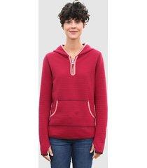 sweatshirt dress in cyclaam
