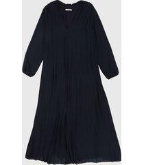 vestido azul oscuro paris district