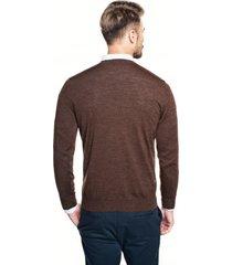 sweter vetica półgolf brąz