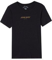 camiseta john john rg downside john malha algodão preto masculina (preto, gg)