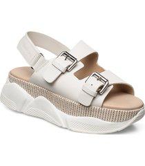 ellen 1b shoes summer shoes flat sandals vit marc o'polo footwear