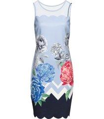 abito con stampa floreale (blu) - bodyflirt boutique